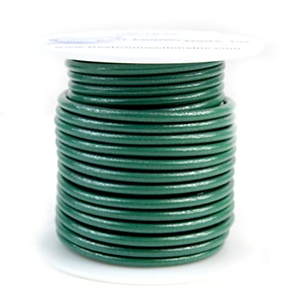 10 Gauge 50 Feet Green Ground Wire Solid Copper UL Listed Cable