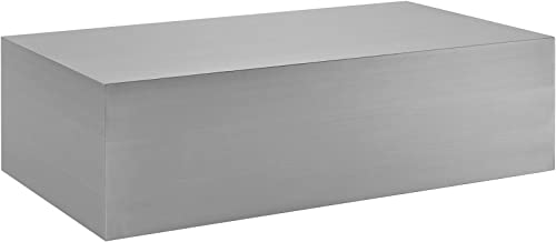 Reviewed: Modway Cast Stainless Steel Coffee Table