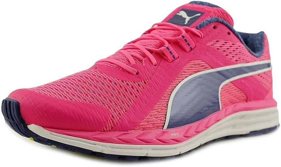 Desviación tsunami viceversa  Amazon.com | PUMA New Womens's Speed 500 Ignite Running Shoe Pink/Blue 6 |  Road Running