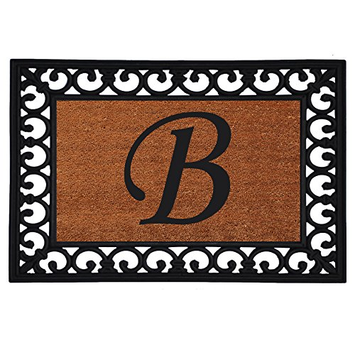 "Home & More 180041925B Inserted Doormat, 19"" X 25"" x 0.60"","