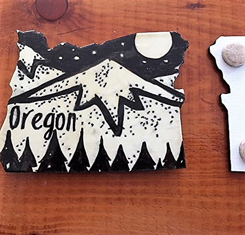 Oregon Drink Coasters