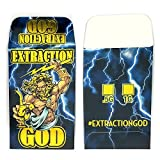 250 Premium EXTRACTION GOD Foil Glossy Extract Coin Shatter Labels Envelopes #042