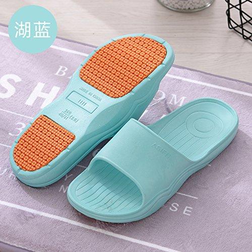 da donna cool ciabatte pantofole piscina 37 38 antiscivolo bagno estate blu nonno fankou Incinta bagno estate vecchio uomini madre fE4cBwq