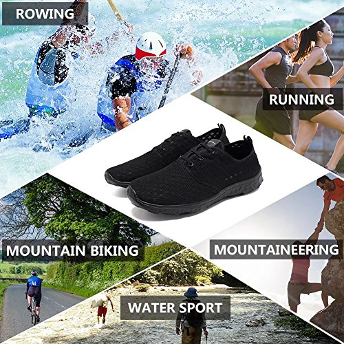 Slip Quick Water CIOR Men Drying Women On Black Fantiny Sneakers All Shoes Aqua Athletic Sport qxZE0wAFC