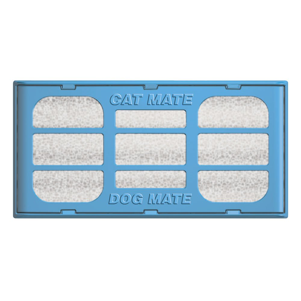 Cat Mate Genuine Replacement Filter Cartridges for use and Dog Mate Pet Fountains – Pack of 6