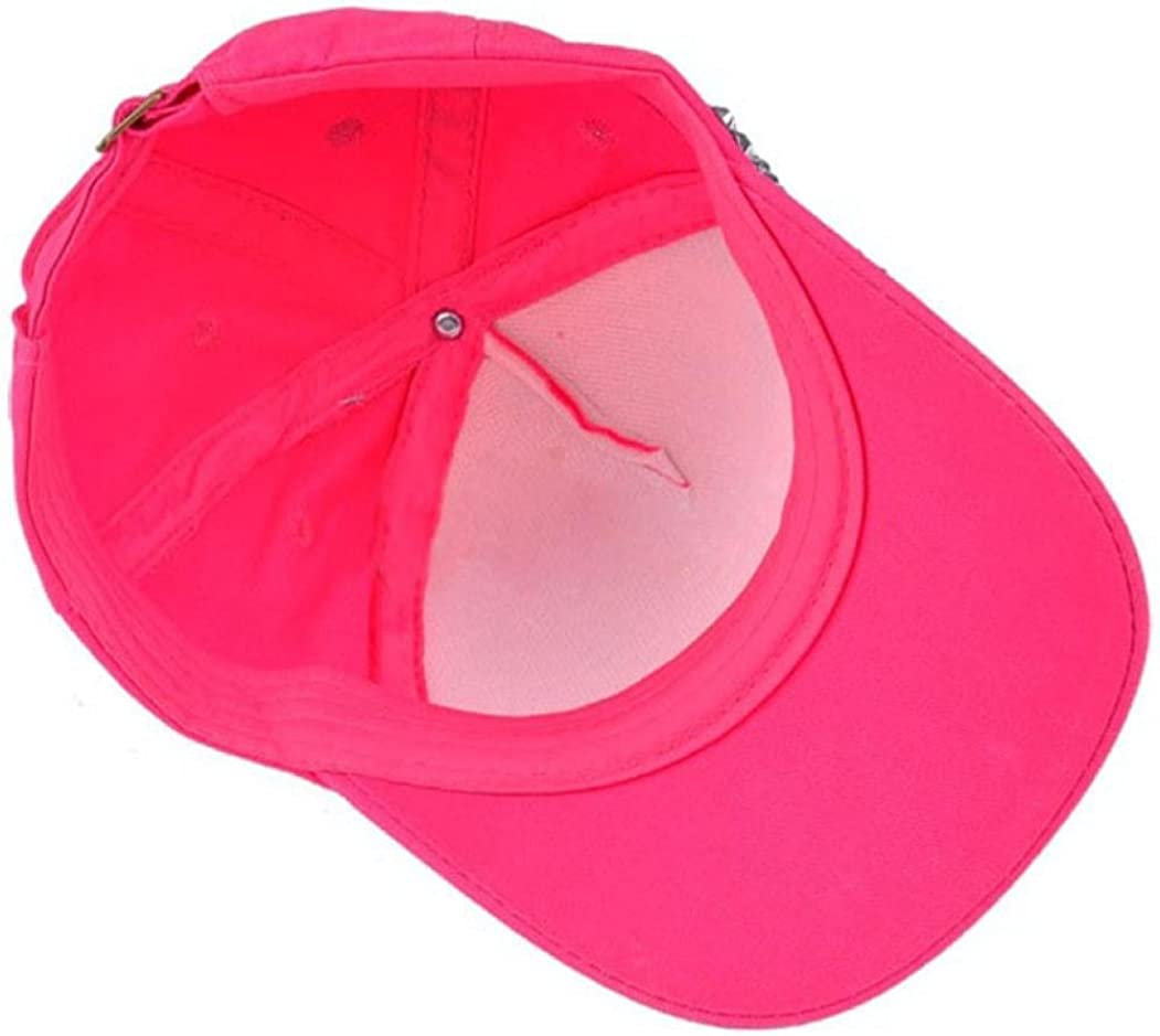 Hot Sale Unisex Boy Girls Adjustable Baseball Cap Rhinestone Star Shaped Baby Snapback Hat