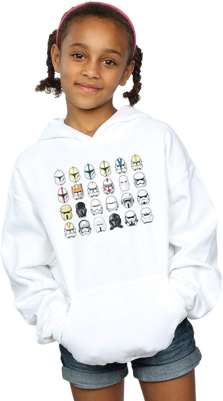 Star Wars Girls Trooper Helmets Hoodie