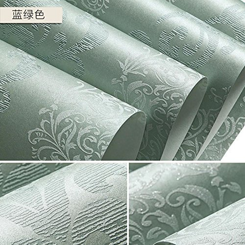 Sitting Room Bedroom Background Wall Stickers Home Decoration(Dark Green) - 6