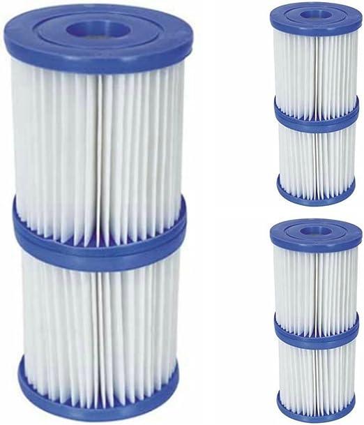 Bestway Flowclear - Cartucho de Filtro para Piscinas de tamaño II ...