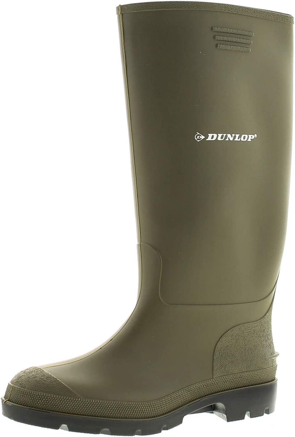 Military Issue Safety Wellington Gummi Boots Wellies Steel Toe Cap Size 11 NEW