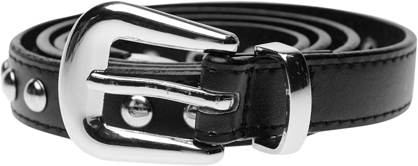 Firetrap Mujer Cinturón Fino Con Tachuelas