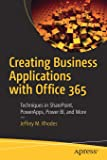 Creating Business Applications with Office