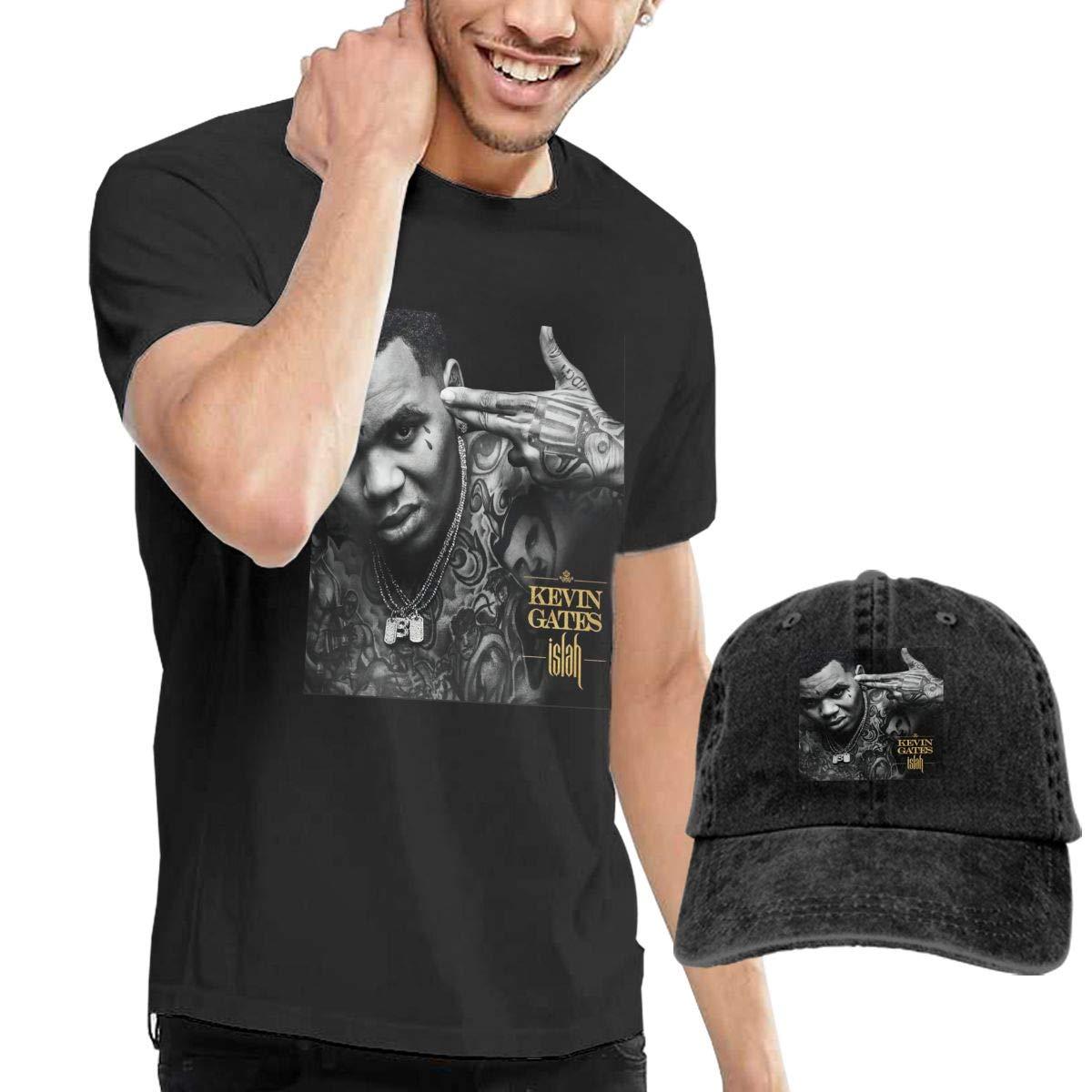 Hfusih.fhs6f789 Kevin Gates Adult Cap Adjustable Cowboys Hats Baseball Cap 3XL Black