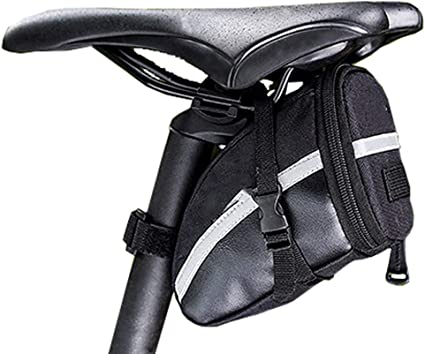 Bicycle Bike Waterproof Storage Saddle Outdoor Bag Under Seat Cycling Tail Pouch