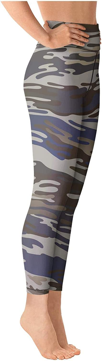 Yoga Capri Leggings for Womens Workout Capris Boho Month Moon Sky Stars Space Pockets and Tummy Control Tight Pants