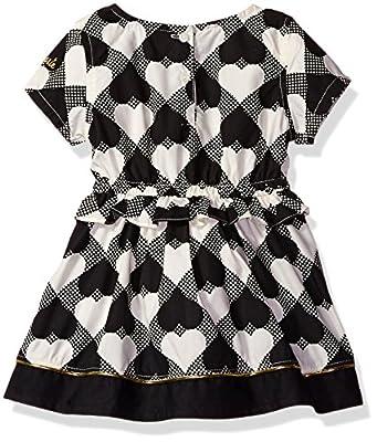 Kensie Girls' Wonderland Hearts Woven Dress