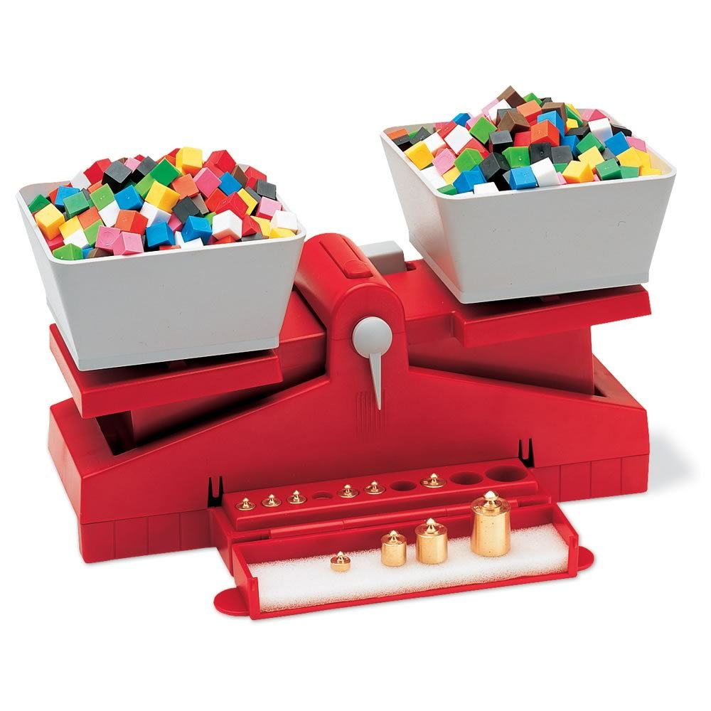 Learning Resources Precision School Balance, Learn Math & Science Concepts, Ages 8+ by Learning Resources