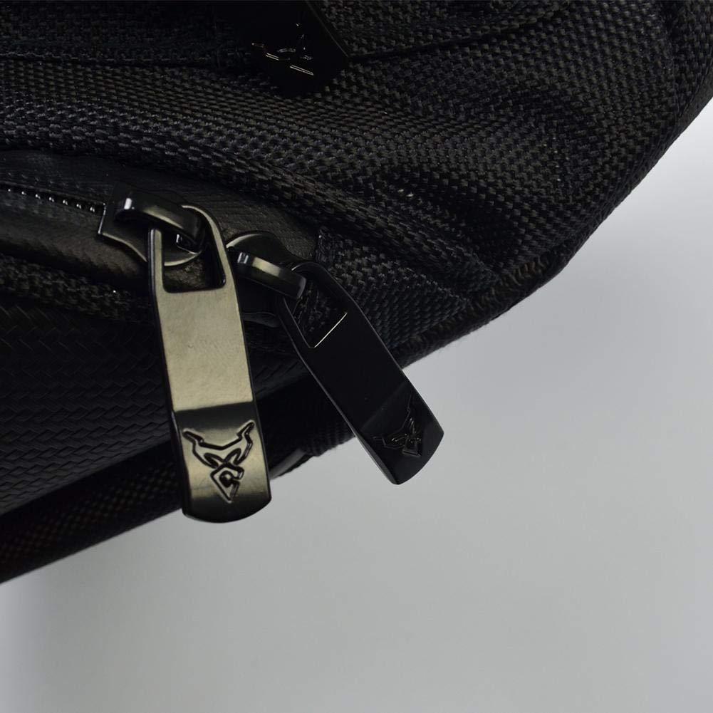 Aceite Motor magn/ético Bolsa de dep/ósito de Combustible Equipaje ehind Bolsa de dep/ósito de Moto Caja Reservoir Moto Bolsa Impermeable Oxford Saddle Black Moto