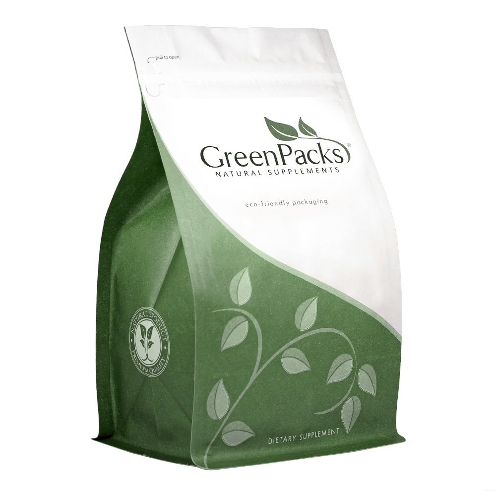 GreenPacks® D-Mannose (500 mg per Capsule) 1500 mg per Serving Supplement - 300 Capsules by GreenPacks