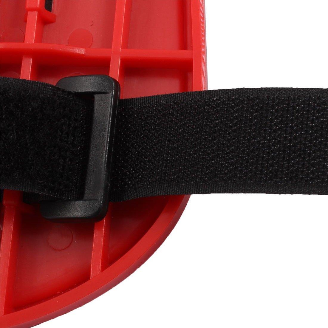 Amazon.com : eDealMax de escritorio Ajustable Silla Extender brazo Doble finalidad del ordenador alfombrilla de ratón Soporte de paletas Negro Rojo : Office ...