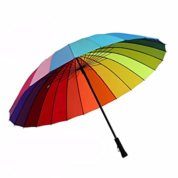 SFSYDDY-Paraguas Paraguas Creativo De Mango Largo Doble Paraguas Gigante Mango Recto De Doble Varilla