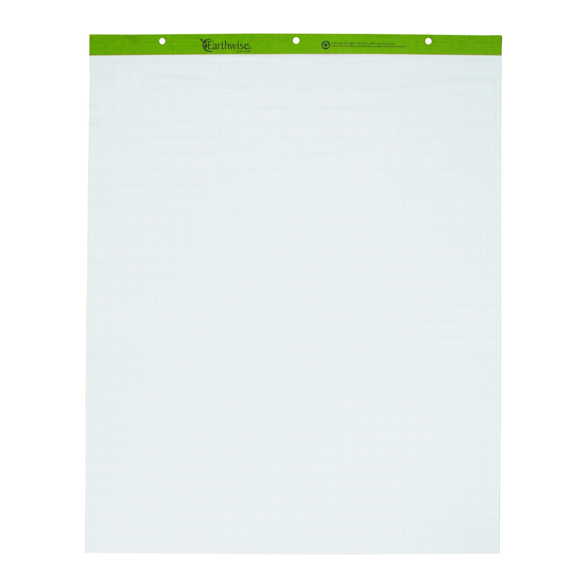 Ampad 24-032R Evidence Flip Chart Pads Ruled with 1-Inch Squares, 27x34, 50 Sheets Per Pad, 2 Pads Per Pack by Ampad