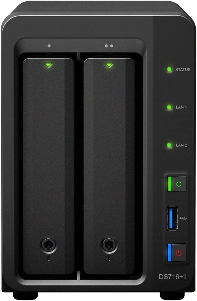 Synology DiskStation DS716+II - Dispositivo de Almacenamiento en ...