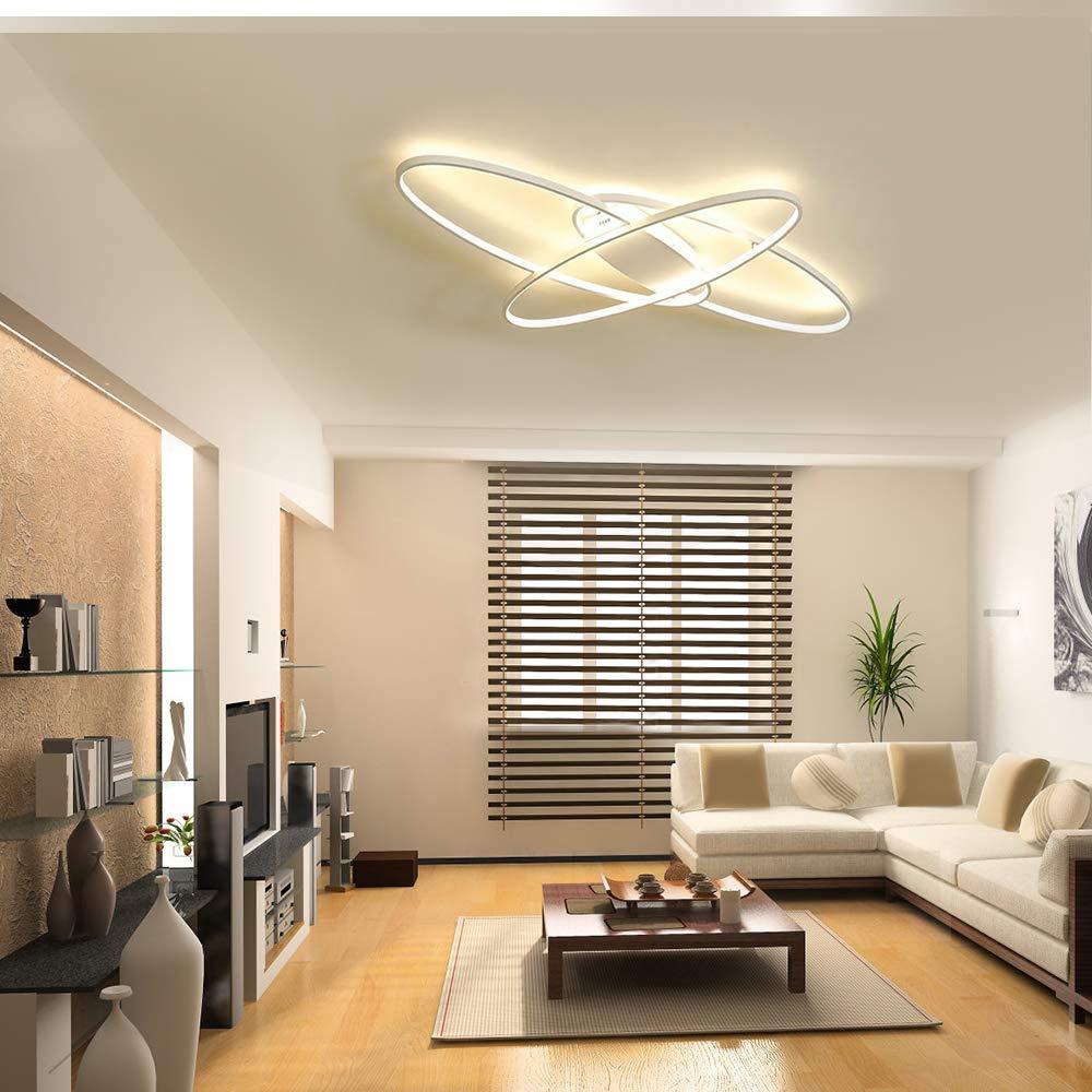 GBLY LED Deckenleuchte Modern Warmwei/ß Deckenlampe Geometrisch Wandlampe Schwarz Multifunktional Deckenbeleuchtung f/ür Wohnzimmer Flur und Balkon Schlafzimmer