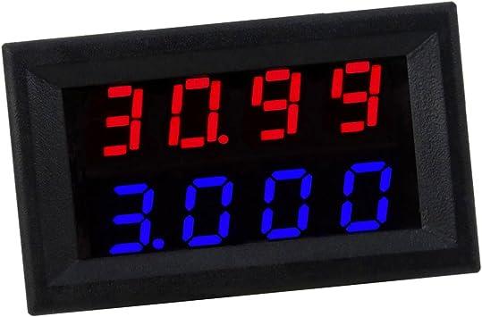 Mini Digital Spannungsmesser Voltmeter Panel Spannungsanzeige Led-Anzeige