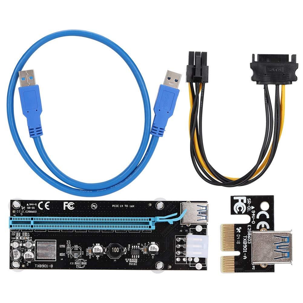 Bewinner Cable de Alimentación PCI-E a PCI-E, Cable de ...