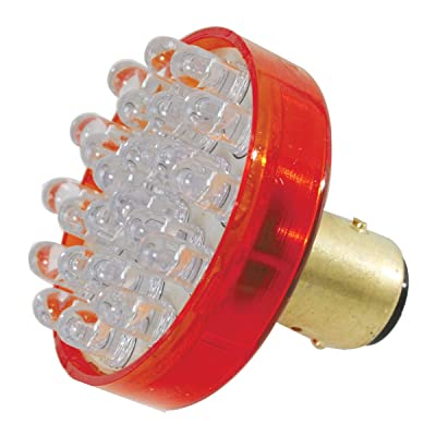 GG Grand General 83933#1157 1-3/4 inches Red 24-LED Light Bulb, 12V: Automotive