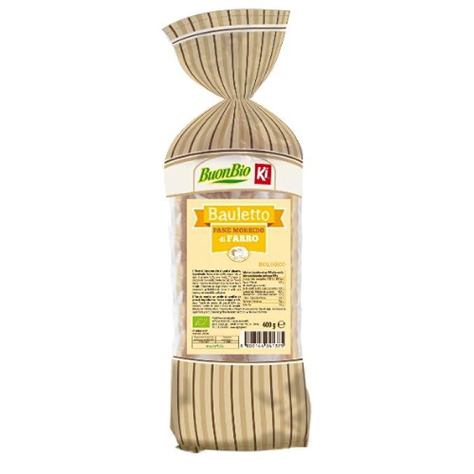 Pan de molde de espelta bio - 400 gr.