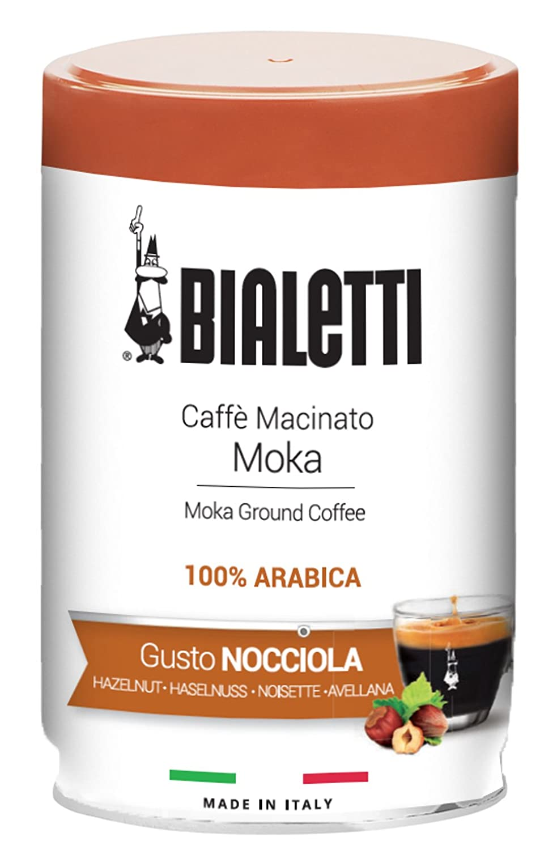 Bialetti 96080110 Ground Coffee Espresso Gusto Nocciola