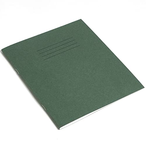 RHINO Learning to Write Notebook - Green Durable Cover (Pack of 10)