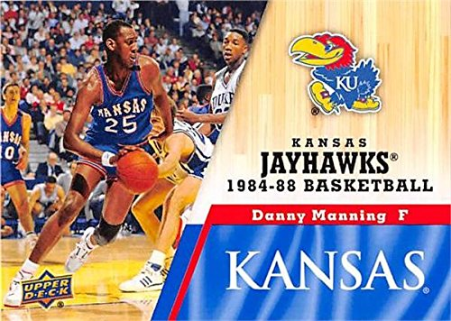 Danny Manning Basketball Card (Kansas Jayhawks, 1984-1988) 2013 Upper Deck #36