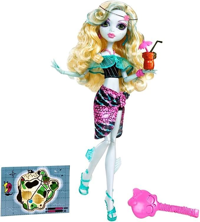 Amazon.es: Monster High - Muñecas Isla Calavera Laggona (Mattel W9182): Juguetes y juegos
