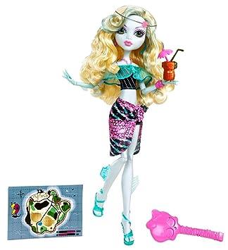 Amazoncom Monster High Skull Shores Lagoona Blue Doll Toys  Games