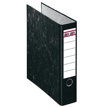 Systafex® 52 x Carpeta DIN A4 8 cm negro - Archivador Carpeta Protector de bordes Tarro Paquete: Amazon.es: Oficina y papelería
