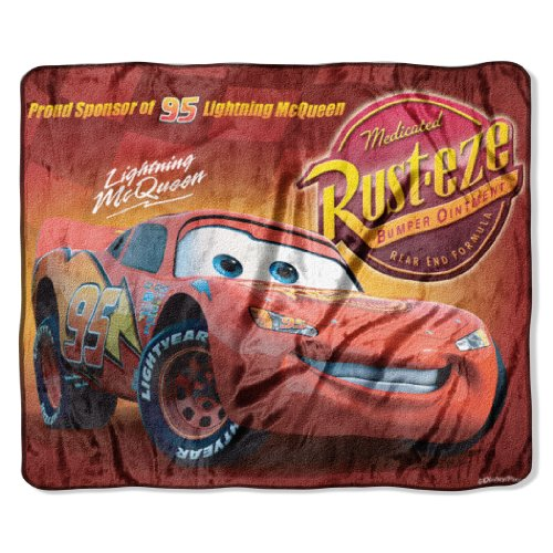 Blanket Throw Micro 50x60 Raschel (Disney-Pixar's Cars,
