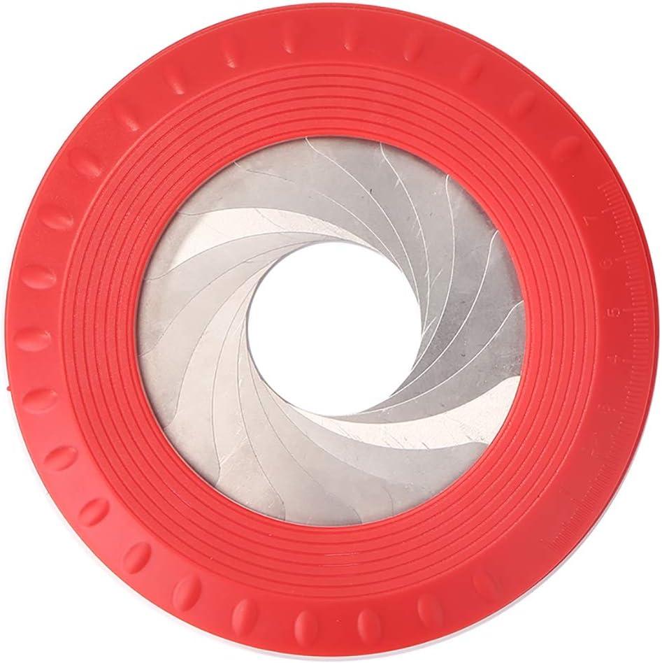 R/ègle de cercle rond Zebery Circle Outil de dessin en forme de cercle r/églable et flexible en alliage daluminium Outil g/éom/étrique Mesure r/églable pour dessin et cercles de dessin