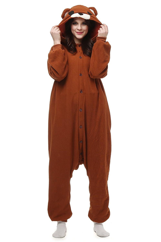 Hstyle Unisex Animale Onesie Kigurumi Pigiama Adulto Costumi Cosplay Pigiameria Vestito Sleepwear 1SY-ZX-XL