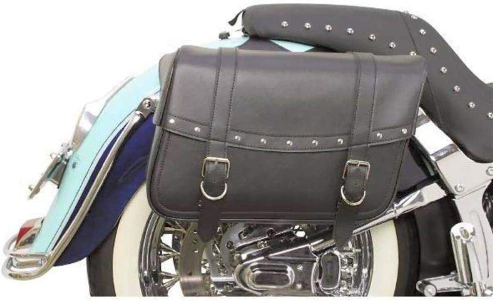Saddlemen X021-03-041 Large Rivet Highwayman Slant-Style Saddlebag: Automotive
