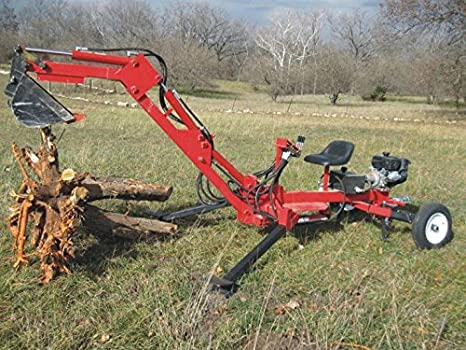 Build your own Portable Backhoe DIY Plans Fun to build – Backhoe Plans For Garden Tractor