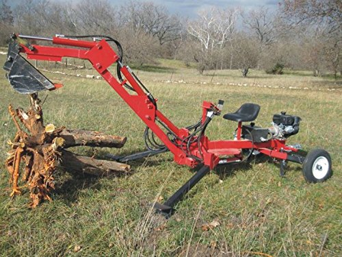 Build your own Portable Backhoe (DIY Plans) Fun to build!! -