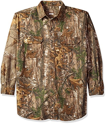 Berne Stalker Camouflage Button Shirt product image