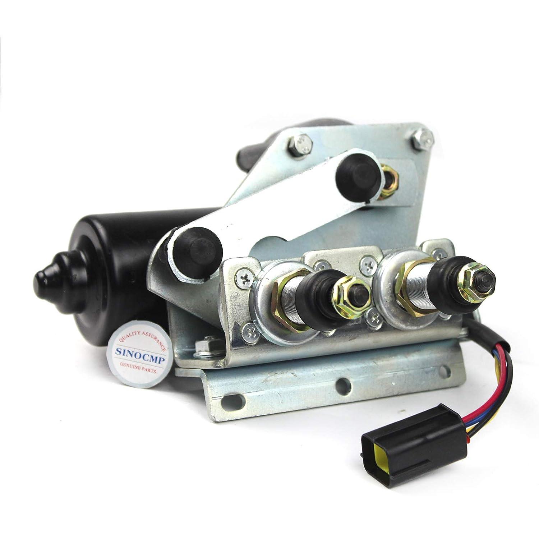 VOE14675537 VOE 14675537 Wiper Motor - SINOCMP Wiper Motor for Volvo EC250 EC300 EC220 Excavator Parts, 6 Month Warranty