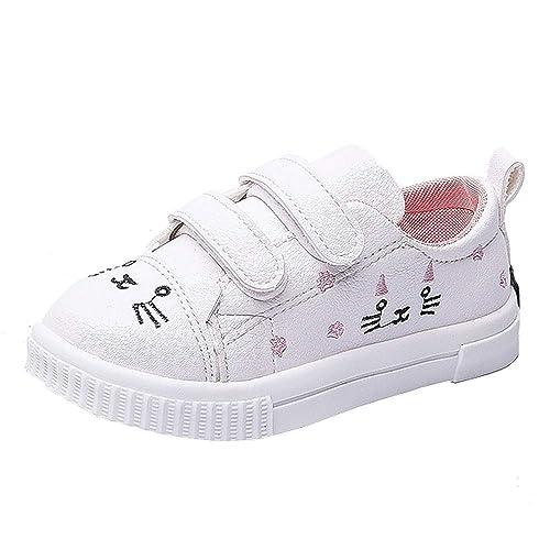 Deportivas Niña de 0-3 Años, ❤️ Zolimx Niños Chicos Niñas Gato Zapatillas Deportivas Zapatillas de Bebé Recien Nacido Zapatos Casuales