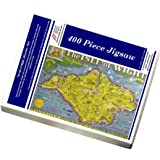 Media Storehouse 400 Piece Puzzle of The Isle of Wight, BR poster, 1949 (10006630)