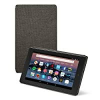 vtraveler.net Fire HD 8 Tablet Case (Compatible with 7th and 8th Generation Tablets, 2017 and 2018 Releases), Charcoal Black