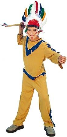 Alco Disfraz Infantil 7-9 años INDIO: Amazon.es: Juguetes y juegos